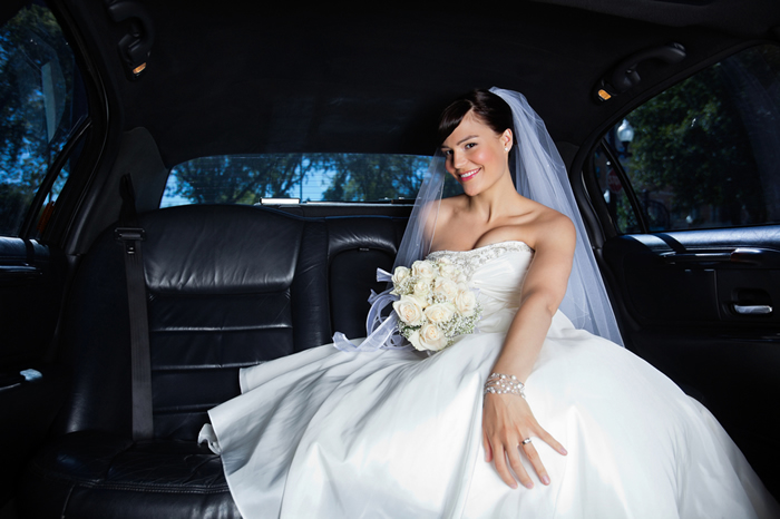 Wedding Limo Grouped Rentals Transportation Services